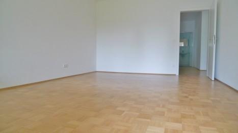 Schlafzimmer einer großen 5 Zimmer Wohnung in München