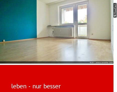 Wohnzimmer einer 3 Zimmer Wohnung in München