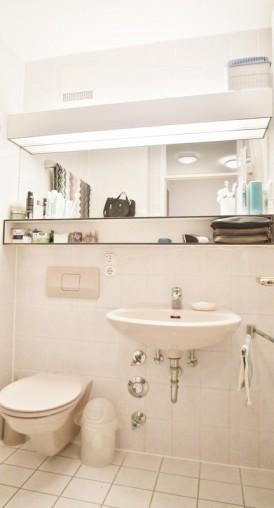 Badezimmer in einer 2-Wohnung in München Schwabing