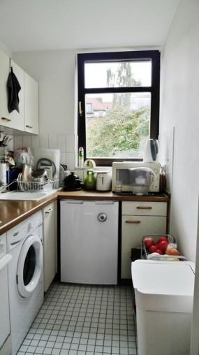 Küche von 2 Zimmer Wohnung München-Schwabing