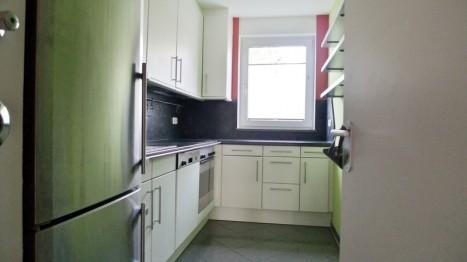 Küche in barrierefreier Wohnung
